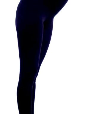 Лосины. Чёрный 850 Стильный животик