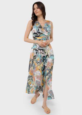 Платье для беременных и кормящих миди холодок Цветное 103734 Россия