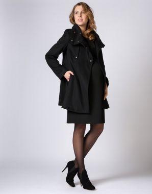 Пальто Чёрный 510302 GeBe Турция